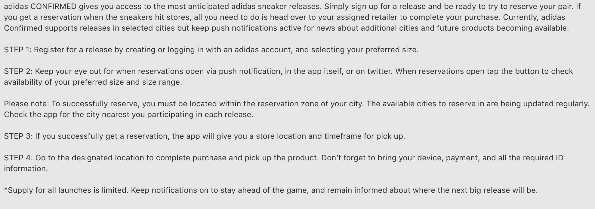 c86bd6596 Yeezy Adidas Online Download Adidas Confirmed app  ...